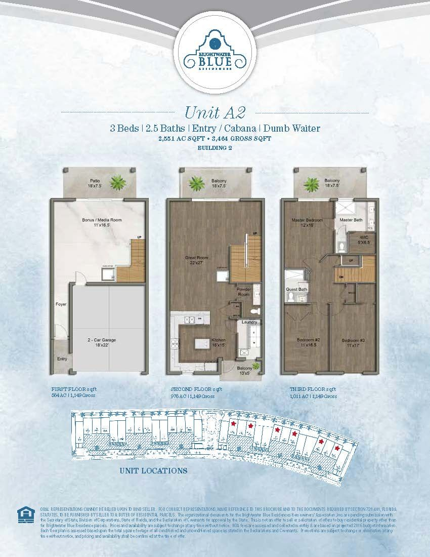 Brightwater Blue Residences For Sale In Clearwater Beach 152 188 Bridgewater Drive Clearwater Beach Fl